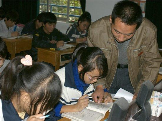 阳平镇初中语文教研活动在阳平一中举行